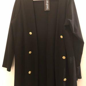 Boohoo long duster light weight jacket